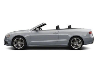 Ice Silver Metallic 2012 Audi S5 Pictures S5 Convertible 2D Quattro photos side view