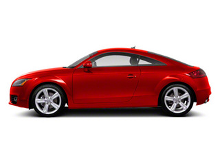 Misano Red Pearl 2012 Audi TT Pictures TT Coupe 2D Quattro Prestige photos side view