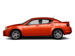 Copperhead Pearl 2012 Dodge Avenger Pictures Avenger Sedan 4D SXT photos side view