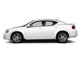 Bright White 2012 Dodge Avenger Pictures Avenger Sedan 4D SXT photos side view
