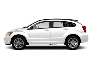 Bright White 2012 Dodge Caliber Pictures Caliber Wagon 4D SE photos side view