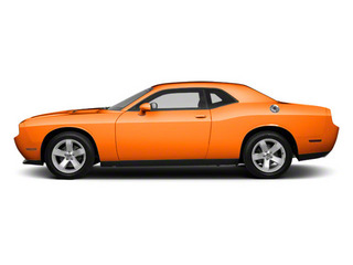 Header Orange 2012 Dodge Challenger Pictures Challenger Coupe 2D R/T photos side view