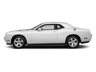 Bright White 2012 Dodge Challenger Pictures Challenger Coupe 2D R/T photos side view