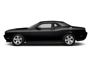 Black 2012 Dodge Challenger Pictures Challenger Coupe 2D R/T photos side view