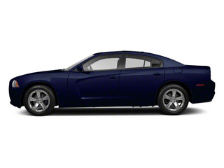 Midnight Blue Pearl 2012 Dodge Charger Pictures Charger Sedan 4D Police photos side view