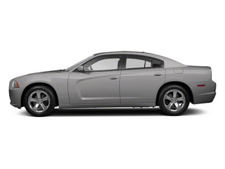 Bright Silver Metallic 2012 Dodge Charger Pictures Charger Sedan 4D SRT-8 photos side view
