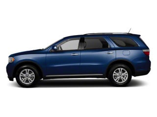True Blue Pearl 2012 Dodge Durango Pictures Durango Utility 4D Crew AWD photos side view