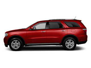 Inferno Red Crystal Pearl Coat 2012 Dodge Durango Pictures Durango Utility 4D Crew AWD photos side view