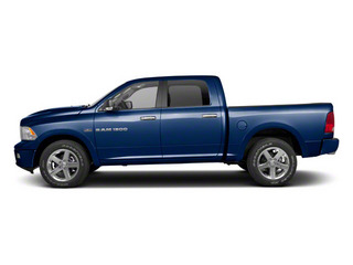 True Blue Pearl 2012 Ram Truck 1500 Pictures 1500 Crew Cab SLT 2WD photos side view