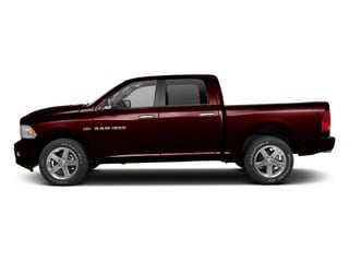 Deep Molten Red Pearl 2012 Ram Truck 1500 Pictures 1500 Crew Cab SLT 2WD photos side view
