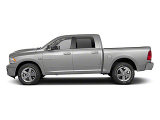 Bright Silver Metallic 2012 Ram Truck 1500 Pictures 1500 Crew Cab Laramie 2WD photos side view
