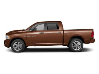 Saddle Brown Pearl 2012 Ram Truck 1500 Pictures 1500 Crew Cab Laramie 2WD photos side view
