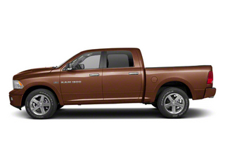 Saddle Brown Pearl 2012 Ram Truck 1500 Pictures 1500 Crew Cab SLT 2WD photos side view
