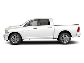 Bright White 2012 Ram Truck 1500 Pictures 1500 Crew Cab Tradesman 2WD photos side view
