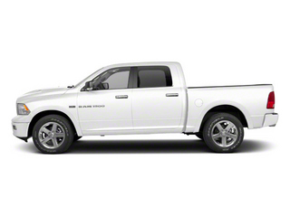 Bright White 2012 Ram Truck 1500 Pictures 1500 Crew Cab Laramie 2WD photos side view