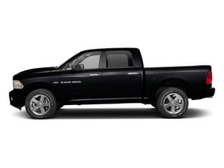 Black 2012 Ram Truck 1500 Pictures 1500 Crew Cab Tradesman 2WD photos side view