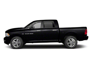 Black 2012 Ram Truck 1500 Pictures 1500 Crew Cab SLT 2WD photos side view