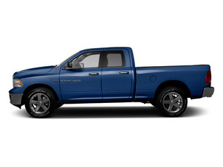 True Blue Pearl 2012 Ram Truck 1500 Pictures 1500 Quad Cab Express 2WD photos side view