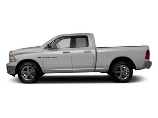 Bright Silver Metallic 2012 Ram Truck 1500 Pictures 1500 Quad Cab Express 2WD photos side view