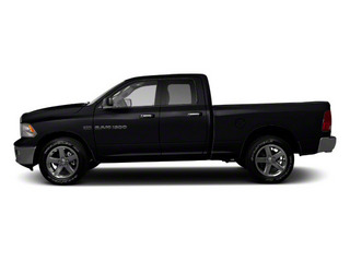 Black 2012 Ram Truck 1500 Pictures 1500 Quad Cab Express 2WD photos side view