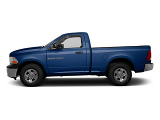 True Blue Pearl 2012 Ram Truck 1500 Pictures 1500 Regular Cab ST 4WD photos side view