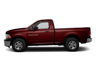 Deep Molten Red Pearl 2012 Ram Truck 1500 Pictures 1500 Regular Cab ST 4WD photos side view