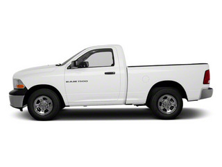 Bright White 2012 Ram Truck 1500 Pictures 1500 Regular Cab ST 4WD photos side view