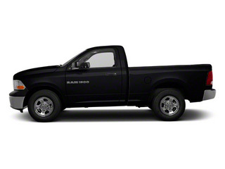 Black 2012 Ram Truck 1500 Pictures 1500 Regular Cab ST 4WD photos side view