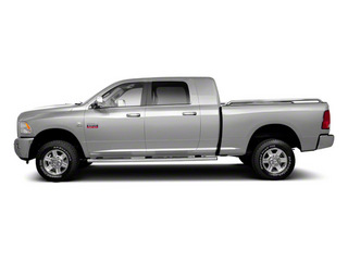 Bright Silver Metallic 2012 Ram Truck 2500 Pictures 2500 Mega Cab Outdoorsman 4WD photos side view