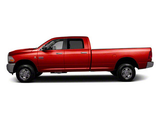 Bright Red 2012 Ram Truck 2500 Pictures 2500 Crew Cab ST 4WD photos side view