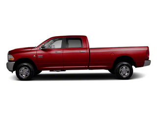Deep Cherry Red Crystal Pearl 2012 Ram Truck 2500 Pictures 2500 Crew Cab ST 4WD photos side view