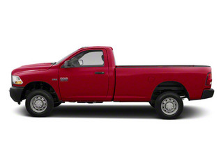 Case IH Red 2012 Ram Truck 2500 Pictures 2500 Regular Cab SLT 2WD photos side view