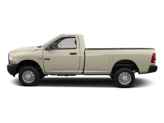 Light Cream 2012 Ram Truck 2500 Pictures 2500 Regular Cab SLT 4WD photos side view