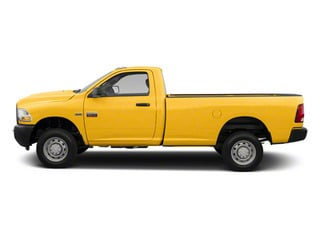 Case Construction Yellow 2012 Ram Truck 2500 Pictures 2500 Regular Cab SLT 2WD photos side view