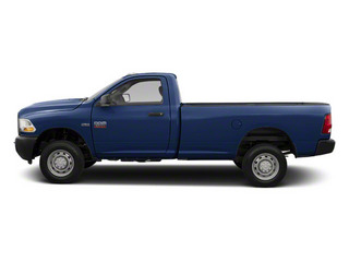 True Blue Pearl 2012 Ram Truck 2500 Pictures 2500 Regular Cab Outdoorsman 4WD photos side view