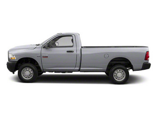 Bright Silver Metallic 2012 Ram Truck 2500 Pictures 2500 Regular Cab Outdoorsman 4WD photos side view