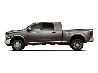 Mineral Gray Metallic 2012 Ram Truck 3500 Pictures 3500 Mega Cab Limited 4WD photos side view