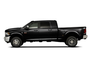 Black 2012 Ram Truck 3500 Pictures 3500 Mega Cab Limited 4WD photos side view