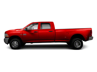 Flame Red 2012 Ram Truck 3500 Pictures 3500 Crew Cab Laramie 2WD photos side view