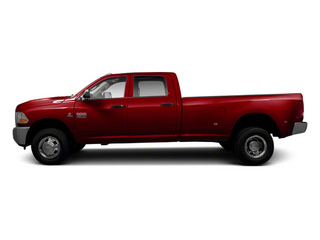Deep Cherry Red Crystal Pearl 2012 Ram Truck 3500 Pictures 3500 Crew Cab Laramie 2WD photos side view