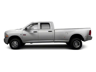 Bright Silver Metallic 2012 Ram Truck 3500 Pictures 3500 Crew Cab Laramie 2WD photos side view