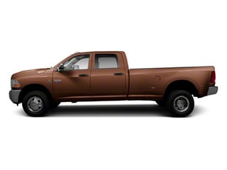 Saddle Brown Pearl 2012 Ram Truck 3500 Pictures 3500 Crew Cab Laramie 2WD photos side view