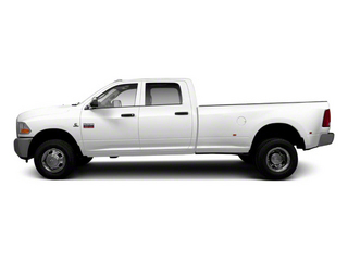 Bright White 2012 Ram Truck 3500 Pictures 3500 Crew Cab Laramie 2WD photos side view