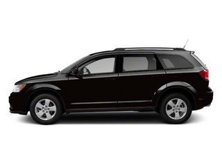 Brilliant Black Crystal Pearl 2012 Dodge Journey Pictures Journey Utility 4D SXT 2WD photos side view