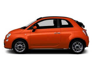 Rame (Copper) 2012 FIAT 500 Pictures 500 Convertible 2D Lounge photos side view