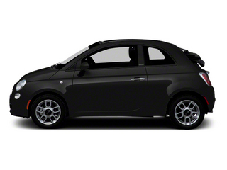 Nero (Black) 2012 FIAT 500 Pictures 500 Convertible 2D Lounge photos side view