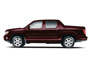 Dark Cherry Pearl II 2012 Honda Ridgeline Pictures Ridgeline Utility 4D RTS 4WD photos side view