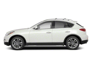 Moonlight White Pearl 2012 INFINITI EX35 Pictures EX35 Wagon 4D Journey AWD photos side view