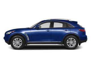Iridium Blue 2012 INFINITI FX35 Pictures FX35 FX35 Limited AWD photos side view
