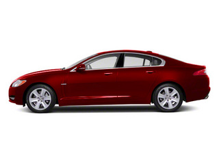 Claret 2012 Jaguar XF Pictures XF Sedan 4D photos side view